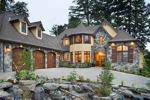 custom luxury home designs 39 rivendell manor 39 by bc custom homes represents mascord 39 s 30th portland of dreams home design