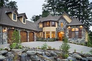 39rivendell manor39 by bc custom homes represents mascord39s for Cottage house ideas rivendall