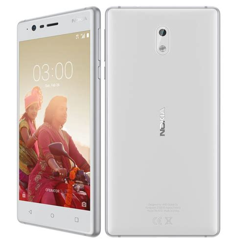 nokia 3 black nokia 3 with 5 inch hd display android 7 0 8mp autofocus
