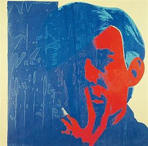 Andy Warhol, Self-Portrait, 1967, acrylic and silkscreen ...