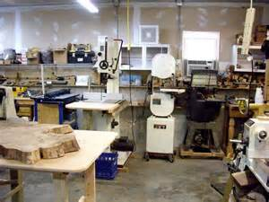 small wood shop layouts