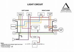 Honda Motorcycle Electrical Diagram And Motorcycle Honda