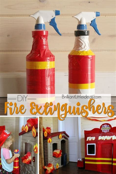 diy fire extinguishers fire safety crafts community