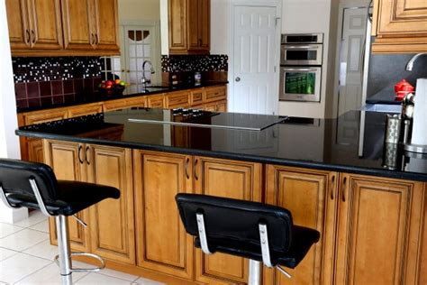 glazed cabinets out of style how to decorate with black counters cabinets in the kitchen