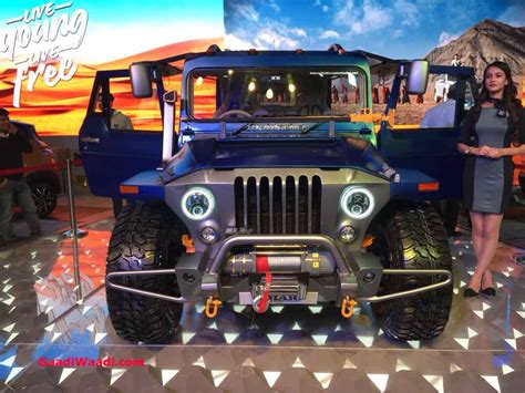mahindra thar wanderlust custom vehicle    drool