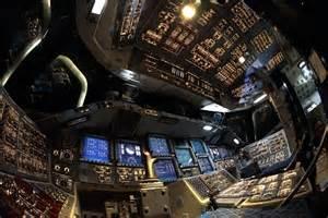 Space shuttle interior photos