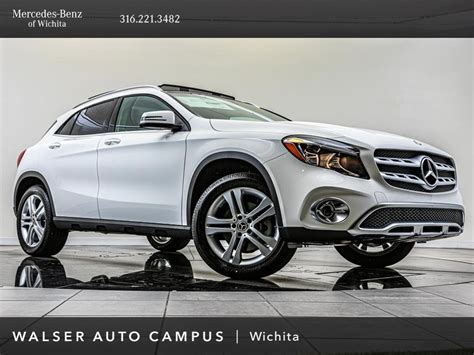Among its many option packages, we'd choose the $1900 premium package, the $350 smartphone. New 2020 Mercedes-Benz GLA GLA 250 Sport Utility in Wichita #57AB770N | Walser Auto Campus