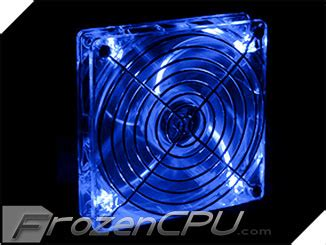 lian li 140mm blue led fan lian li 140mm x 25mm led fan blue 1200rpm 26 95dba