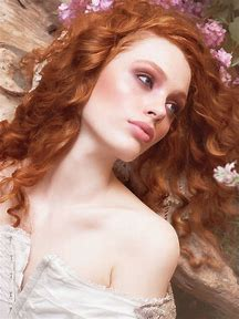 Natural Red Hair Long Curly Hairstyles