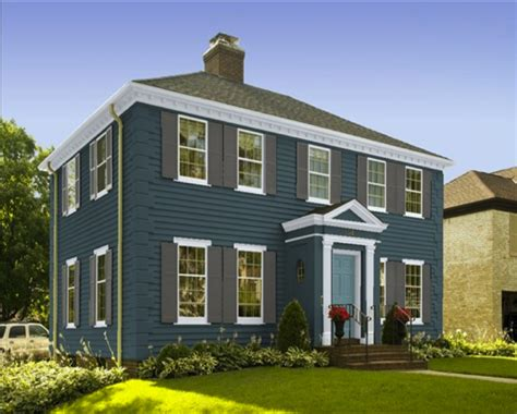 benjamin moore exterior paint color combinations
