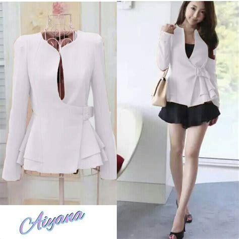 blazer murah baju blazer fashion wanita korea cantik modern model