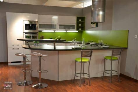 cuisine mur vert pomme dootdadoo com idées de