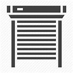 Blinds Roller Icon Shutters Garage Window Icons