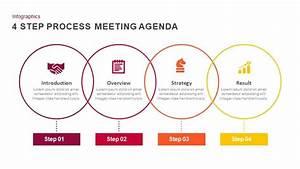 4 Step Meeting Agenda Powerpoint Template And Keynote