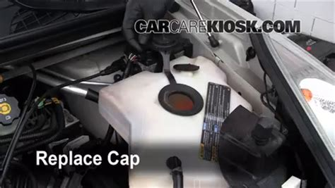 add coolant buick rendezvous