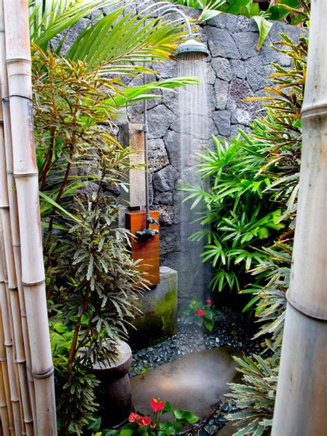 Tropical Shower by 25 Cool Shower Designs That Will Leave You Craving For More