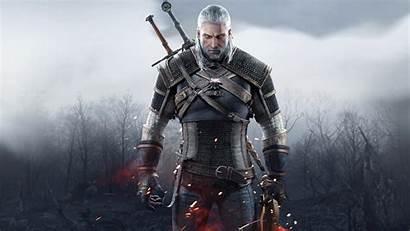 Geralt Witcher Rivia Hunt Wild Wallpapers 4k
