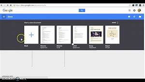 Creating A Resume On Google Docs