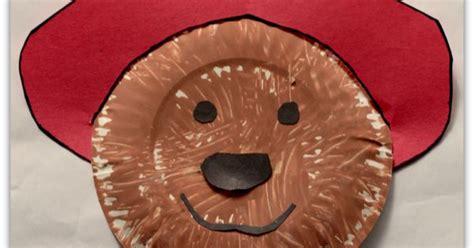 paddington bear paper plate craft  atjdanielsmom