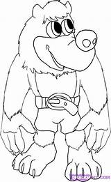 Banjo Kazooie Colouring Pages Draw Animation Yoni Coloring Games Sketch Step Bear Template Again Bar Looking Case Don Cohen sketch template