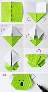 Origami Facile Marque Page