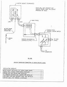 Wiring Diagram For Temporary Service