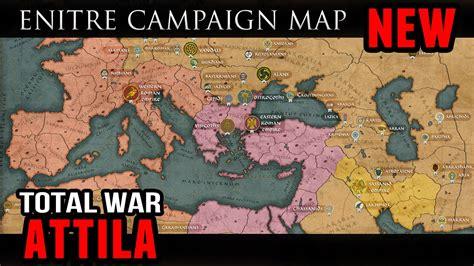 total war attila  factions  starting locations