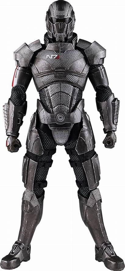 Armor Shepard Commander Mass Effect Scale Sci