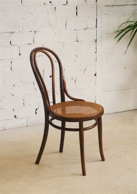 chaise bistrot thonet thonet chairs vintage retro antique bistro chair