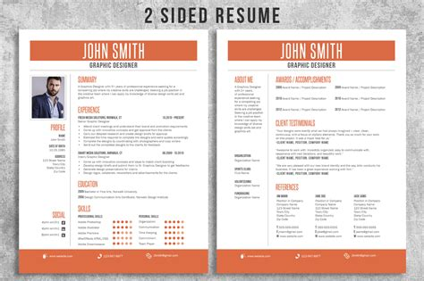 resume cv bundle cover letter business card by lucion