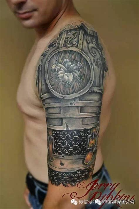 medieval armor tattoos ideas