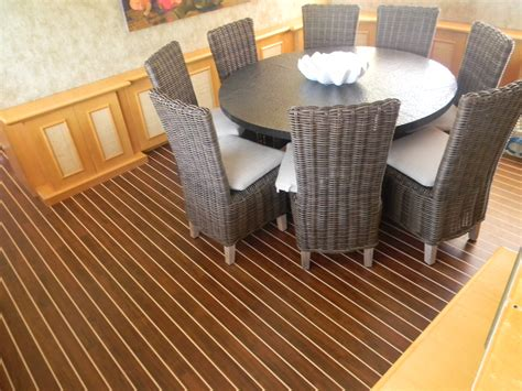 Boat Flooring Interior by Synthetic Teak Decking Marine Decking Marine Carpentry