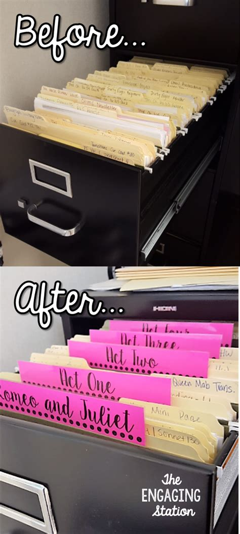 how to organize your file cabinet filing cabinet organization the engaging station
