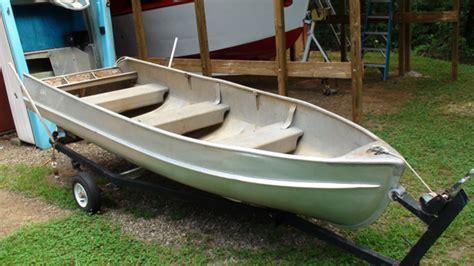 Jon Boat No Hull Number by Alumacraft River Boat