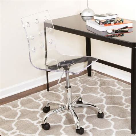 Clear Acrylic Desk Chair by Clear Acrylic Swivel Office Chair World Market