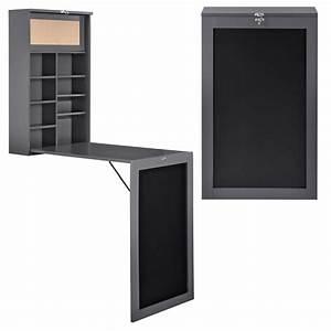 Tisch Wand Klappbar : wandtisch grau schreibtisch tisch regal wand ~ Michelbontemps.com Haus und Dekorationen