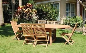 Salon Jardin Teck : salon de jardin en teck bois homemaison vente en ~ Melissatoandfro.com Idées de Décoration