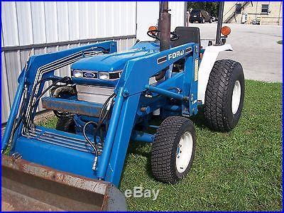 ford compact tractor   loader  mowers tractors