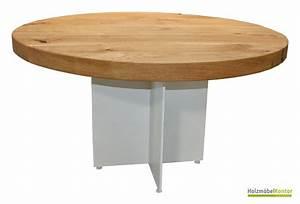 Runde Esstische : runde tische und esstische aus massivholz holzm belkontor ~ Pilothousefishingboats.com Haus und Dekorationen
