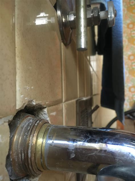 plumbing removal of drain extension pipe at the wall