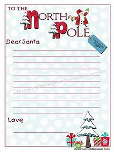 freebie kringle stationary write your christmas letter With letter to santa stationary