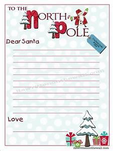 freebie kringle stationary write your christmas letter With write santa a christmas letter