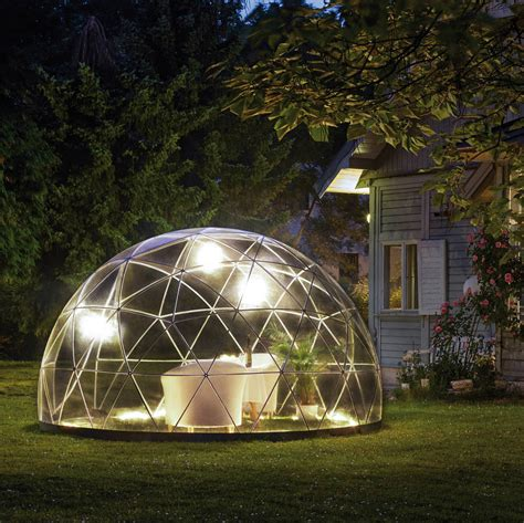 garden igloo 360 garden igloo 360 dome with optional canopy cover by cuckooland notonthehighstreet