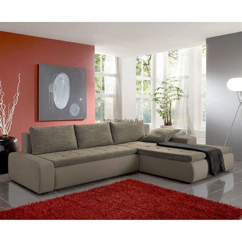 canapé d angle marron pas cher canapé d 39 angle convertible pas cher confortable et design