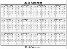Desk & Wall Printable Calendar 2018 UK with Bank Holidays