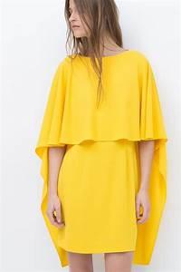 les robes nous en font voir de toutes les couleurs With zara robe jaune