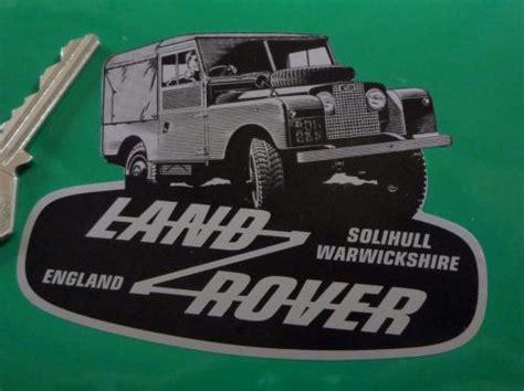 land rover defender logo shaped sticker