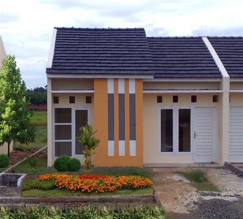 contoh gambar rumah minimalis type halaman taman
