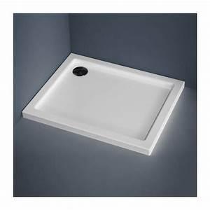 Receveur De Douche 80x100 : receveur de douche rectangulaire 80x100 cm acrylique water ~ Melissatoandfro.com Idées de Décoration