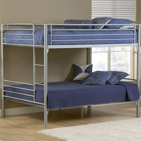 metal bunk beds hillsdale universal youth metal bunk bed in